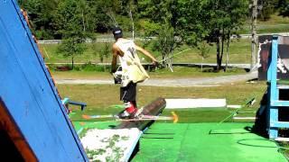 Kyle Farwell Skiing