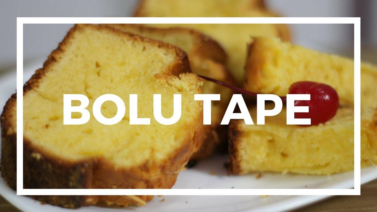 Resep Cake Tape Jadul: Resep Membuat Bolu Tape Panggang