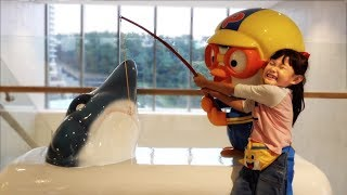 [20분] 상어를 잡아라! 아기상어 낚시하는 뽀로로 키즈카페 라임튜브 인기 영상 모음 LimeTube toy review