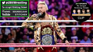 Enzo Amore Case Closed - The Alleged Wrestling Podcast Clip - May 18th 2018