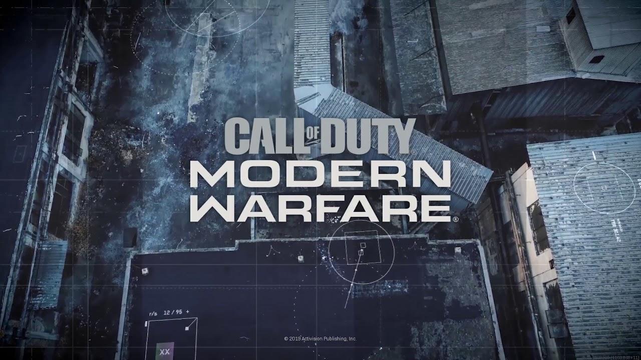 Call of Duty Modern Warfare Main Theme (Surround Sound)