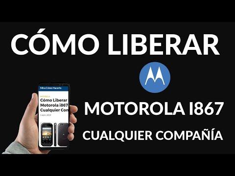 ¿Cómo Liberar un Motorola i867 para Cualquier Compañía?