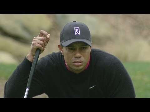 Tiger Woods Grabs 36 Hole Lead At World Challenge Youtube