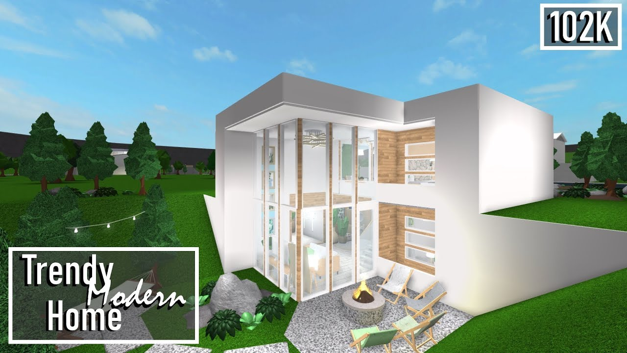 Bloxburg: Trendy Modern Home 102K