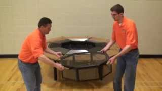 Firepit Grill & Table - The Jag Grill - Features Overview