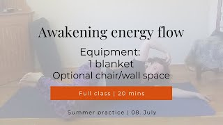 Awakening energy flow 08-07-2020