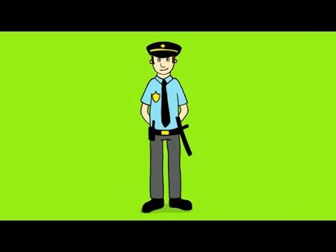 meilleure sélection haute qualité choisir le plus récent Apprendre à dessiner un policier - YouTube