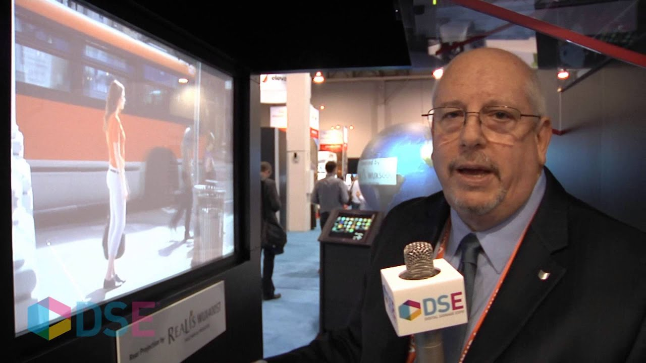 Michael Erlich of Canon USA at DSE 2014