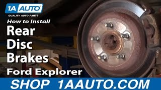 Front Brake Rotors And Metallic Pads For Ford Explorer Sport Ranger 4WD 4X4 Trac
