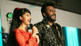 Chandan Shetty and Niveditha singing on Stage | gombe | ❤