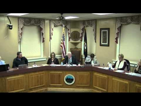 Georgetown City Council Meeting February 8, 2016