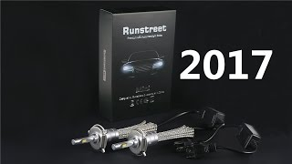 Runstreet(TM) 2017 Super Bright 6000K White Car LED Headlight H1 H3 H4 H7 H11 9005 HB3 9006 HB4 9012(, 2016-11-23T10:17:59.000Z)