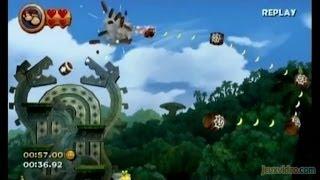 Speed Game - Donkey Kong Country Returns - Fini en 1h23