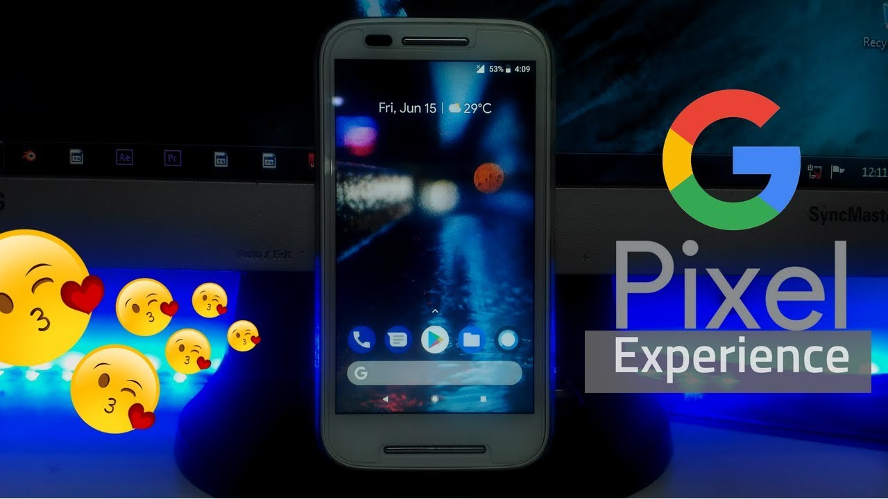 Offical Latest Pixel Experience Go Rom For All Phones // Oreo On Moto E 1st  Gen (Condor)😍