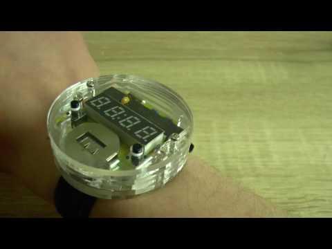 Радио конструктор наручных светодиодных часов