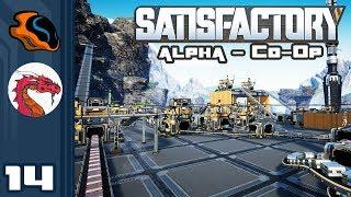 Let's Play Satisfactory [Alpha - Co-Op w/ Aavak] - PC Gameplay Part 14 - Crashtactic
