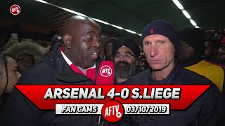 Arsenal 4-0 Standard Liege | Martinelli & Willock Are Pushing For A Starting Place! (Lee Judges)