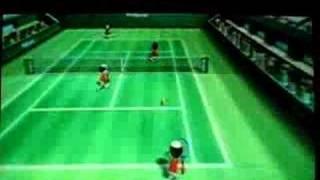 tennis wii 森山花奈 動画 22