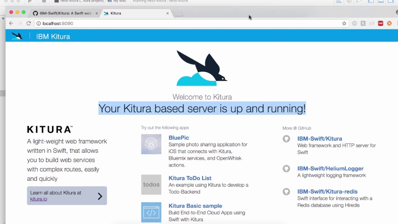 Introduction to Server Side Swift Using Kitura