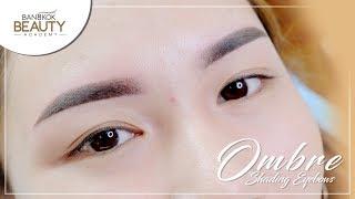 Ombre Shading Eyebrows by Master Vaniya