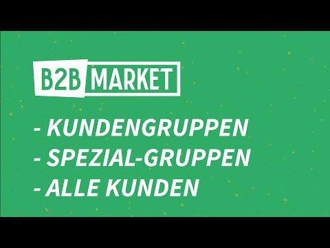 Kundengruppen In B2B Market