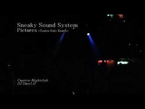Sneaky Sound System - Pictures (Tonite Only Remix)