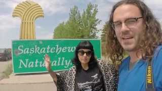 Driving to Saskatoon, Saskatchewan