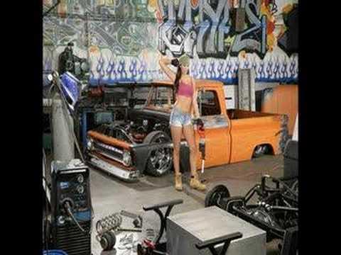 Sport Truck Magazine Model Lana Kinnear Poster Shoot