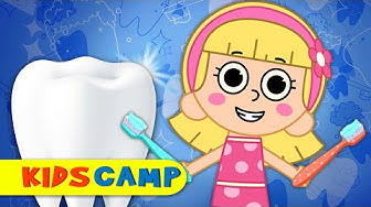 Let's Brush Our Teeth | Morning Routine | Nursery Rhymes & Kids Songs