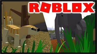Building A Zoo In Roblox! | Roblox Zoo Tycoon
