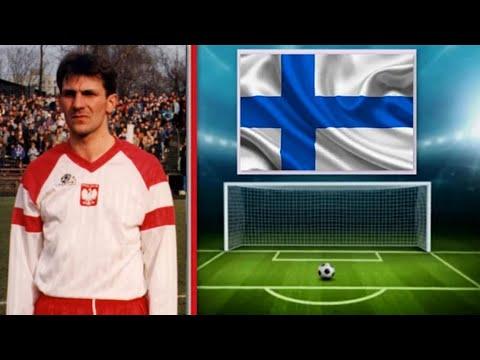 1991 [483] Polska v Finlandia [1-1] Poland v Finland