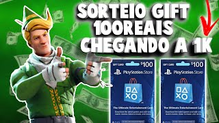 (Live AO) Fortnite Vamos Bate 1k Pra Nois sortea V-bucks From 2800