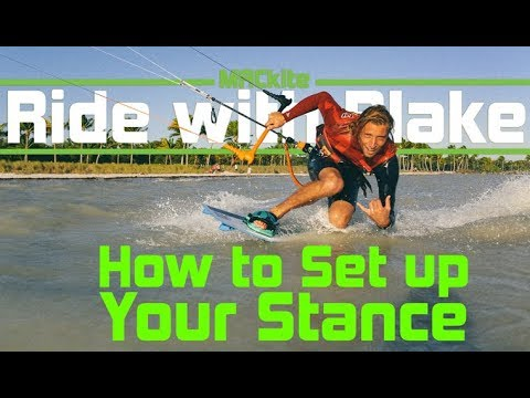Kiteboarding: How To Setup Your Footstraps - Ride With Blake: Vlog 36