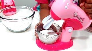 Mainan Perlengkapan Dapur Anak 💖 Mixer Blender Ketel Oven Household Playset 💖 Let's Play Jenica 💖