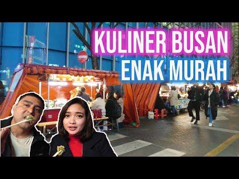 Kuliner Malam Busan Street Food in Seomyeon Market