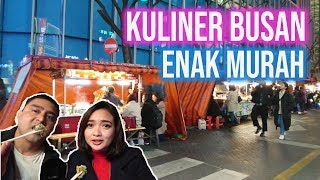 Kuliner Malam Busan Street Food in Seomyeon Market
