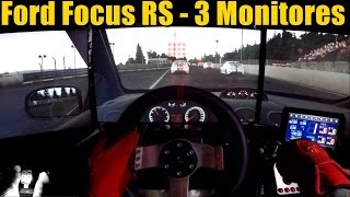 Project Cars - Focus RS acelerando na Nürburgring 3 Monitores! ‹ ZoiooGamer ›
