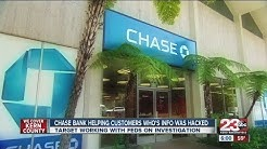 Chase Bank helping customers recover after info hacked