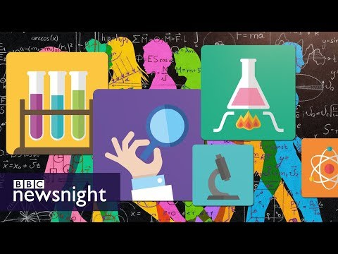The 'gender-equality paradox' in STEM fields – BBC Newsnight