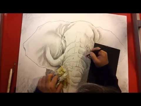 Dessin elephant youtube - Dessin elephant ...
