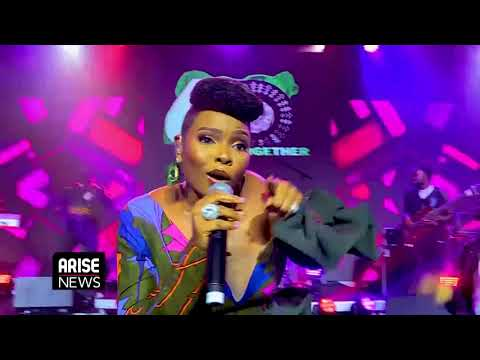 Yemi Alade's Performance at THISDAY/ARISE Group's Global Virtual Commemoration - Nigeria @ 60