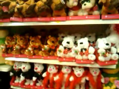 Valentines Day Bears At Wal Mart   YouTube