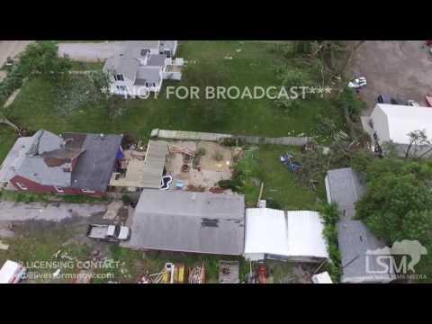 6-17-17 Beatrice, Nebraska Damage-Drone Footage