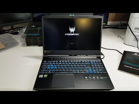 Acer Predator Helios 300 PH315-53-79CQ (2020 Version) First Look & Unboxing