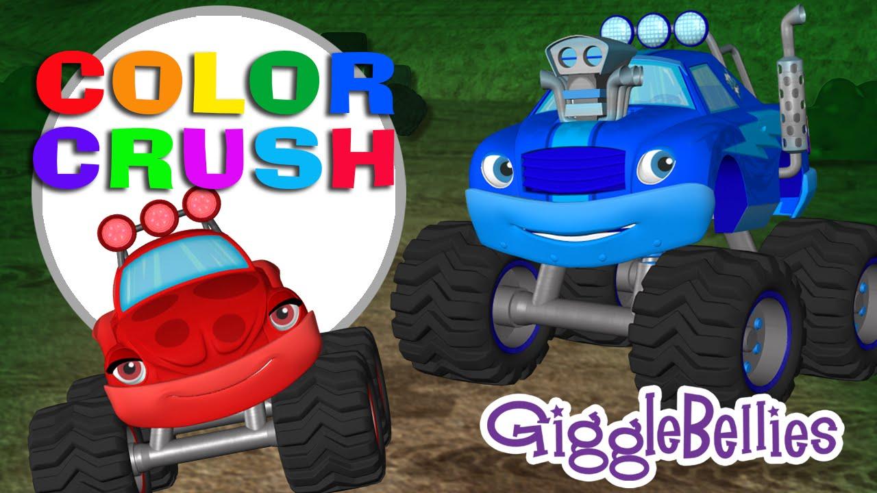 Monster Trucks Crush Some Colors Episode 08