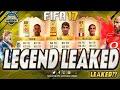FIFA 17 NEW LEGENDS CONFIRMED ??