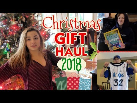 It's What We Got For Christmas 2018 *Our Gift Haul*