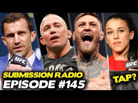 Submission Radio #145 Luke Rockhold, Colby Covington, Cynthia Calvillo, Jonathan Snowden + more
