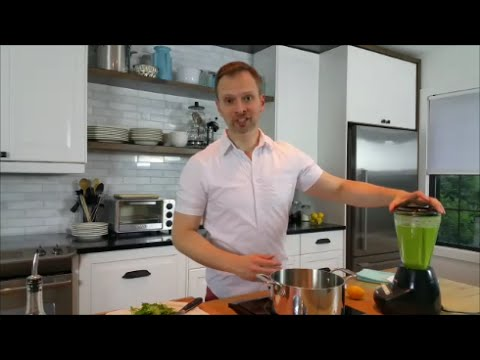 Doug Cooking - Easy Pea Soup, Two Ways