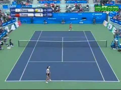 East Asian Games Tennis Women's singles Final: Kai-Chen Chang vs Shuai Zhang final game